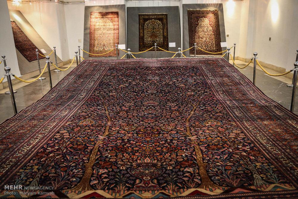 Mehr News Agency Golestan Palace Showcasing Garden Rugs