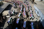 وصول رفات 55 شهيداً ايرانياً عن طريق منفذ شلمجه