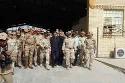 لقاء قائد الحرس الحدودي الايراني ونظيره العراقي استعداداً للأربعين الحسيني
