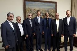 بروجردی و اسد