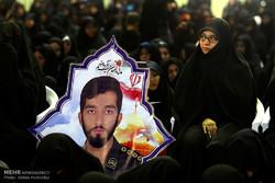 مراسم هفتمین شب در گذشت شهید حججی