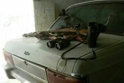 ۲ شکارچی متخلف در ورامین دستگیر شدند/ضبط ۲ اسلحه شکاری