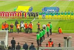 دیدار تیم ملی فوتبال ایران و توگو