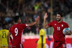 دیدار تیم های ملی فوتبال ایران و توگو