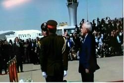 ظریف در مراسم طالبانی