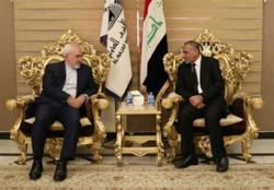 وزير الخارجية الايراني يصل الى مدينة النجف الاشرف