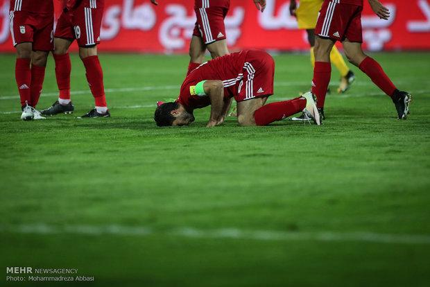 فوز ايران على توغو بثنائية نظيفة في مباراة ودية