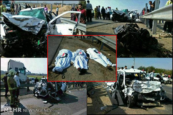 تصادف فیروزکوه
