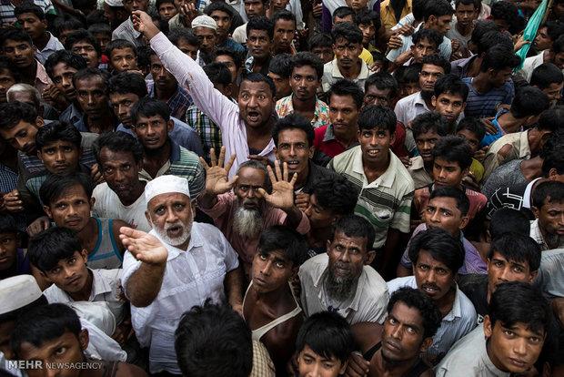 Myanmar Müslümanlarının durumunu anlatan yeni kareler