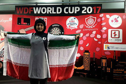 Iran finishes vice-champion at WDF World Cup