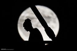 ماه کامل اکتبر در نقاط مختلف جهان
