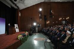 الرئيس روحاني: جميع الدول تدين اليوم موقف امريكا من ايران