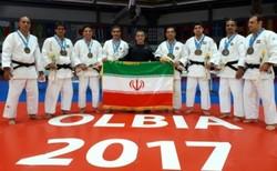 المنتخب الايراني للكاتا جودو يحرز المركز الثالث عالميا