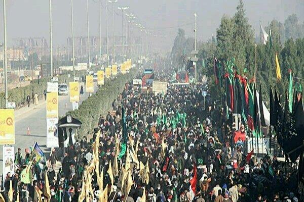 وضعیت مرز مهران برای اربعین