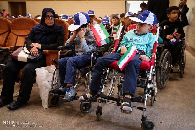 مراسم تدشين قانون حماية ذوي الاحتياجات الخاصة