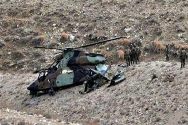 تحطم مروحية أميركية في أفغانستان