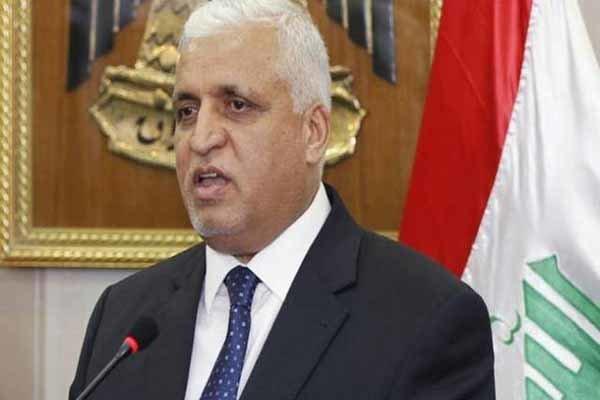 فالح الفياض: موقف بغداد الرسمي سيكون ضد إرسال قوات عربية إلى سوريا