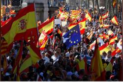 تظاهرات حامیان اتحاد اسپانیا