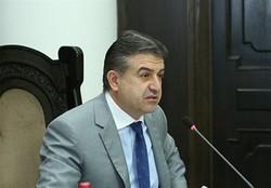 Armenian PM to visit Iran on Monday
