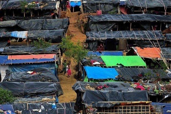 کمپ مهاجران میانمار در بنگلادش