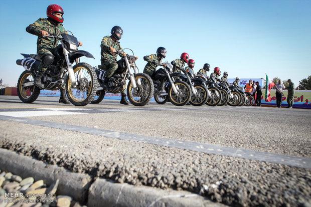 هفتمین دوره مسابقات موتورسواری سرعت ناجا