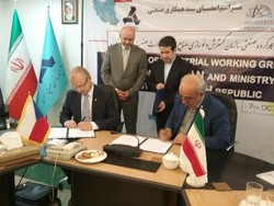 Tehran, Prague ink MoU for industrial coop.