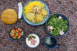 Local Food Festival for elderly in Birjand