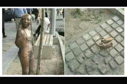 شکایت انتظامی درباره دزدیده شدن مجسمه «کودک»/ مردم گزارش بدهند