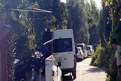 یک عامل انتحاری خود را در غرب ترکیه منفجر کرد