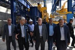 رئیس کمیسیون ویژه حمایت از تولید ملی از مجتمع جهان فولاد سیرجان بازدید کرد
