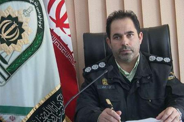 کریم نوری معاون اجتماعی نیروی انتظامی اردبیل
