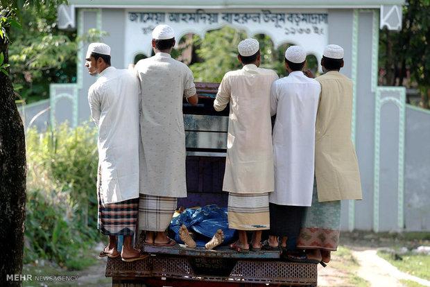 غرق قایق مسلمانان میانماری