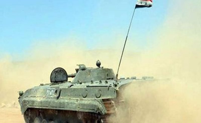 Syria Army Retakes Area on Eastern Bank of Euphrates River