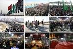 شور حسینی پایان ندارد؛ مرزهای خوزستان رنگ و بوی اربعین گرفت