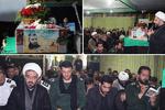 مراسم وداع با پیکر مطهر شهید «پرویز قرایی» در دماوند برگزار شد