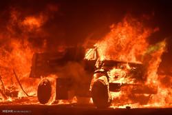 ادامه آتش سوزی ها در کالیفرنیا