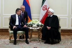 رئيس وزراء ارمينيا ينشد توسيع العلاقات مع ايران في شتى المجالات
