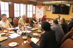 دیدار حسین انتظامی با هیات رسانهای آفریقای جنوبی