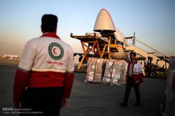 بارگیری محموله بشر دوستانه هلال احمر برای مردم میانمار