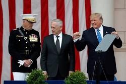 ترامپ و ماتیس