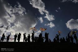 برگزاری جشنواره بادبادک ها به مناسبت هفته زمین پاک در شهر یاسوج