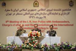 نشست نیروی انتظامی جمهوری اسلامی ایران  با سفراء