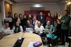 بازدید دانشجویان خبرنگاری دانمارک از خبرگزاری مهر