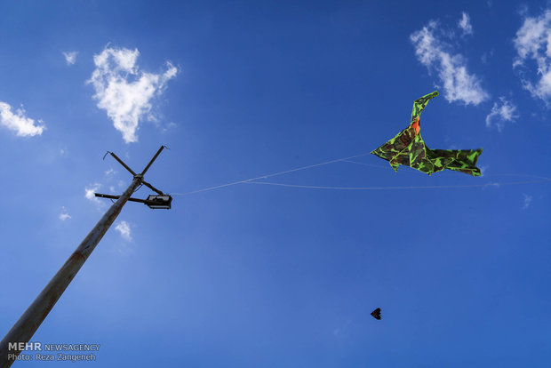 Hamedan hosts Kite Festival