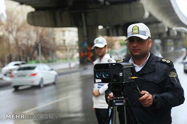 وضعیت ترافیک صبحگاهی معابر بزرگراهی تهران