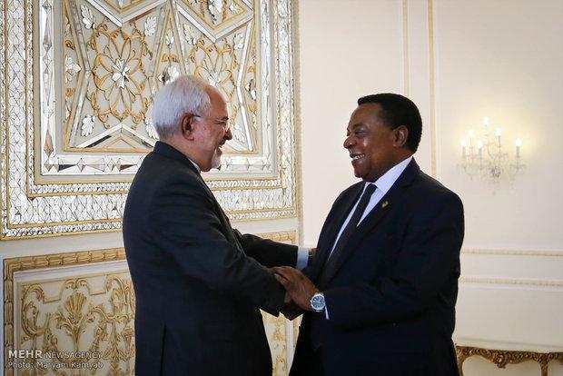 Zarif meets with Tanzanian counterpart