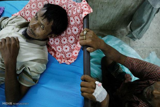 تصاویر/ چهرههای رنجدیده مسلمانان میانمار
