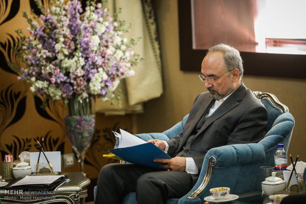 Tanzanian FM meets Iranian Economy min. in Tehran