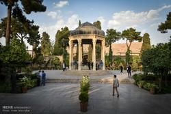 حافظ الشيرازي قبلة عشاق الأدب الفارسي /صور