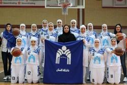 شروع مقتدرانه دانشگاه گلستان در سوپر لیگ بسکتبال بانوان